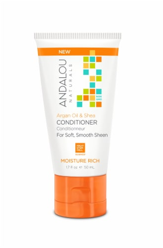 Andalou Naturals Argan Oil & Shea Moisture Rich Conditioner Perspective: front