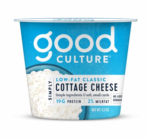 Good Culture Simply Low-Fat Classic Cottage Cheese Perspective: front