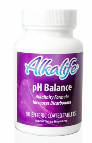 Alkalife pH Balance Tablets Perspective: front