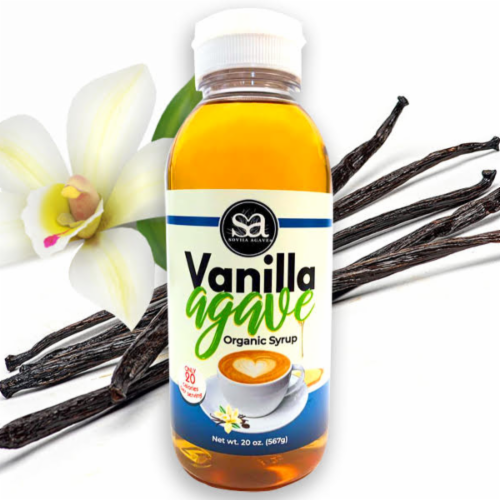 Organic Vanilla Agave Perspective: front