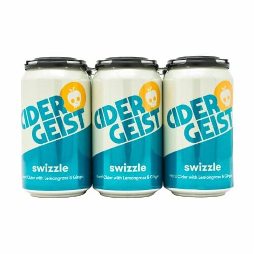 Rhinegeist Cidergeist Swizzle Hard Cider Perspective: front