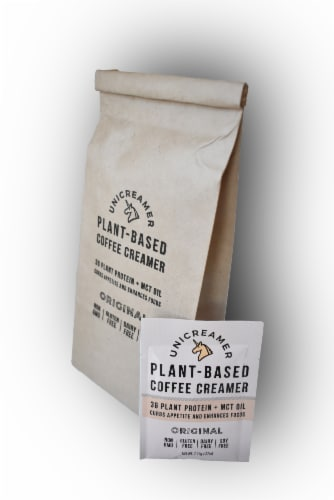 Unicreamer Original Plant-Based Coffee Creamer Perspective: front