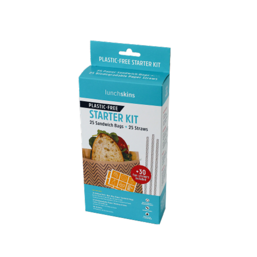 LunchSkins Plastic-Free Starter Kit Perspective: front