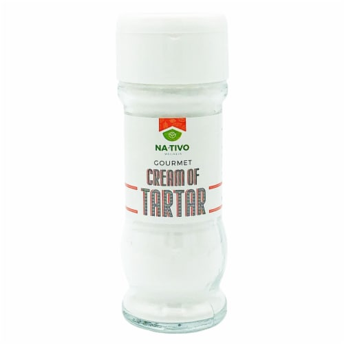Nativo Cream of Tartar 2.62 oz  jar Perspective: front