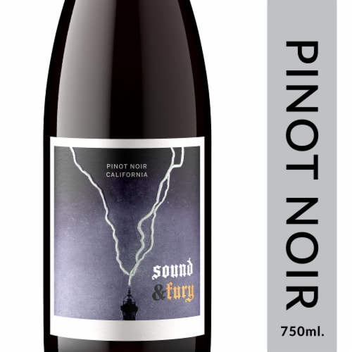 Sound & Fury Pinot Noir Perspective: front