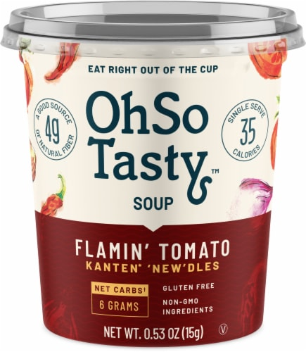 OhSo Tasty Flamin' Tomato Soup Perspective: front