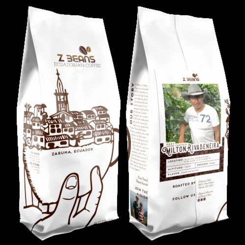 Ground, Ecuadorian Coffee - Milton Rivadeneira's Plantation - Natural Processed Perspective: front