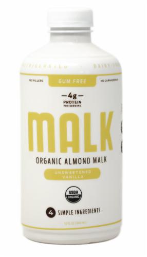 Malk Organic Unsweetened Vanilla Almond Malk Perspective: front