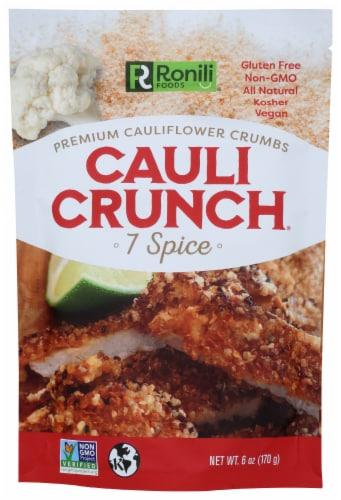 Cauli Crunch 7 Spice Premium Cauliflower Crumbs Perspective: front