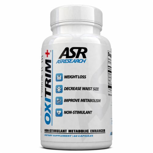OxiTrim+ Non-Stimulant Metabolic Enhancer Perspective: front