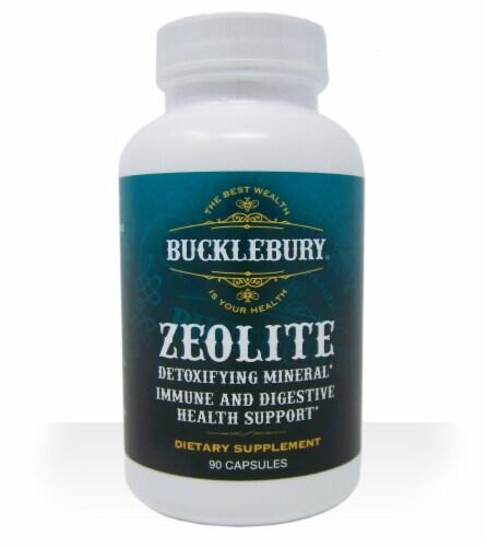 Bucklebury Zeolite Detoxifying Mineral Supplement Capsiles Perspective: front