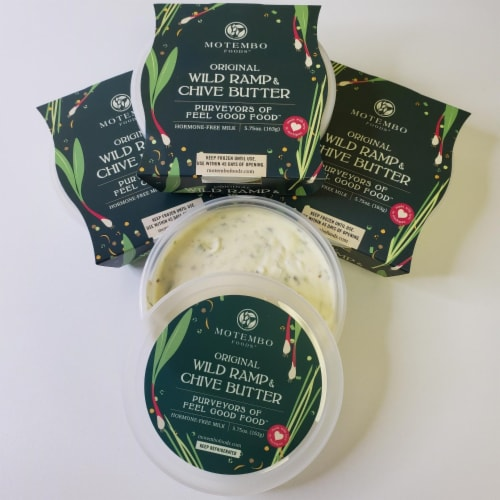 4 Count Original Wild Ramp & Chive Butter Perspective: front