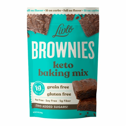 Livlo Keto Brownie Mix Perspective: front