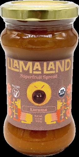 LlamaLand Organics Lucuma Superfruit Spread Perspective: front