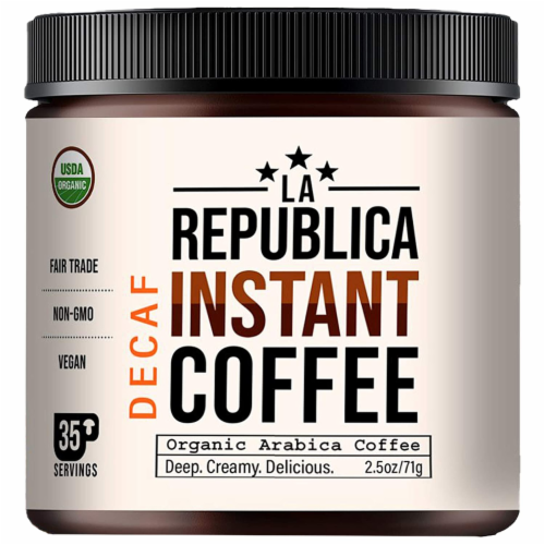 Instant Coffee Decaf 3 oz Perspective: front