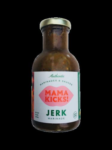 Mama Kicks Jerk Marinade Perspective: front