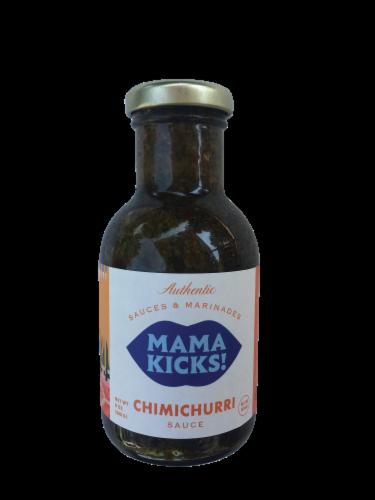 Mama Kicks Chimichurri Sauce Perspective: front