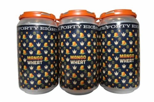State 48 Brewery Mango Wheat Beer Perspective: front