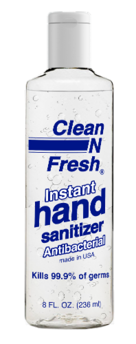 Clean N Fresh Instant Hand Sanitizer Perspective: front