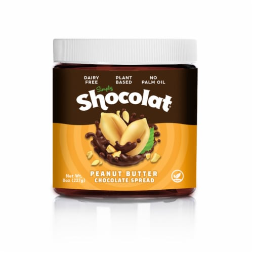 Shocolat Peanut Butter Chocolate Spread Perspective: front