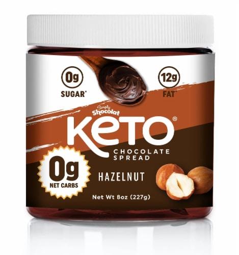 Shocolat Keto Hazelnut Chocolate Spread Perspective: front