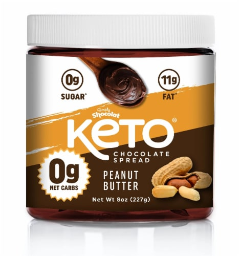 Shocolat Keto Peanut Butter Chocolate Spread Perspective: front