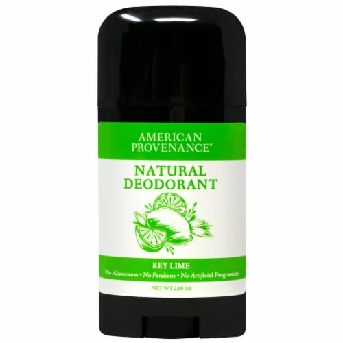 American Provenance Natural Deodorant Key Lime 2.65 oz Perspective: front