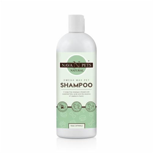OMEGA MAX Pet Shampoo Perspective: front