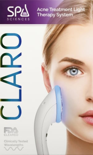 Spa Sciences CLARO Acne Treatment Light Therapy System Perspective: front