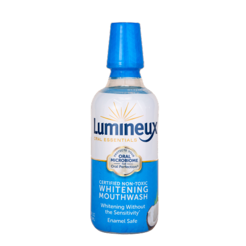 Lumineux Oral Essentials Oral Perfection Whitening Mouthwash Perspective: front
