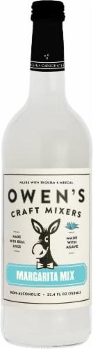 Owen's Craft Mixers Margarita Mix Perspective: front