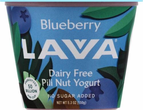 Lavva Blueberry Plant-Based Yogurt Perspective: front