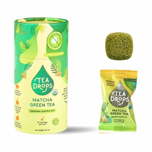 Tea Drops Matcha Green Tea Perspective: front