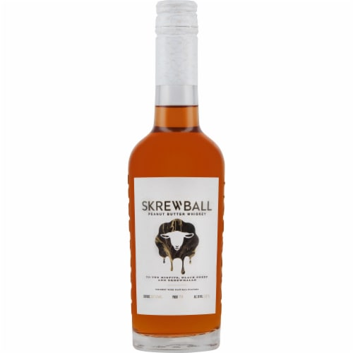 Skrewball Peanut Butter Whiskey Perspective: front