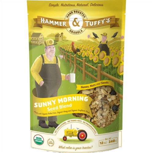 Hammer & Tuffy's Sunny Morning Seed Blend Granola Perspective: front