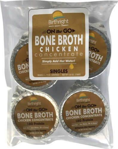 Birthright  On The Go Bone Broth   Chicken Perspective: front
