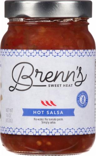 Brenn's  Sweet Heat Salsa - Hot Perspective: front
