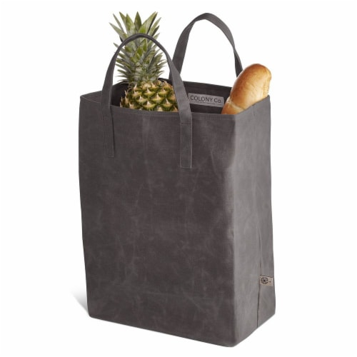 World's Strongest Grocery Bag - Gray Perspective: front