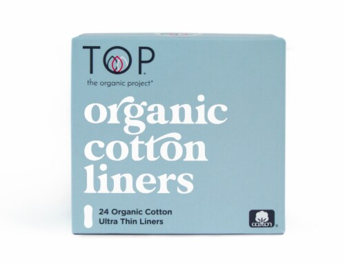 TOP Organic Cotton Ultra Thin Panty Liners Perspective: front