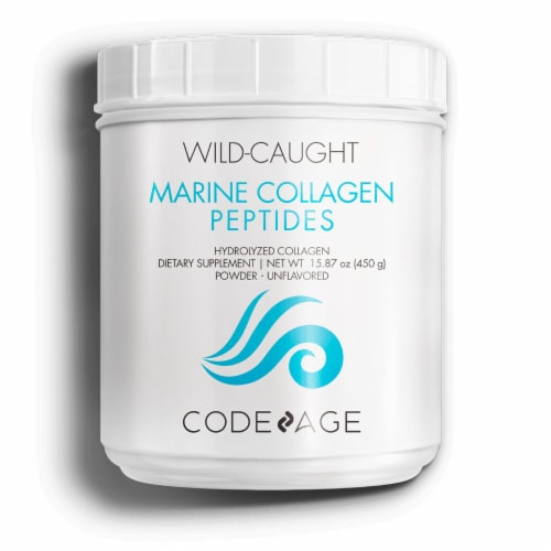 Codeage Wild Caught Marine Collagen Peptides Perspective: front