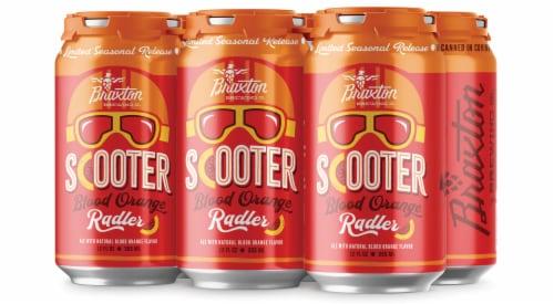 Braxton Scooter Blood Orange Radler Ale Perspective: front