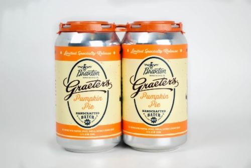 Braxton Limited Graeter's Pumpkin Pie Craft Beer Perspective: front