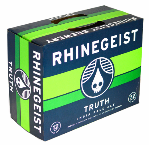 Rhinegeist Truth India Pale Ale Perspective: front