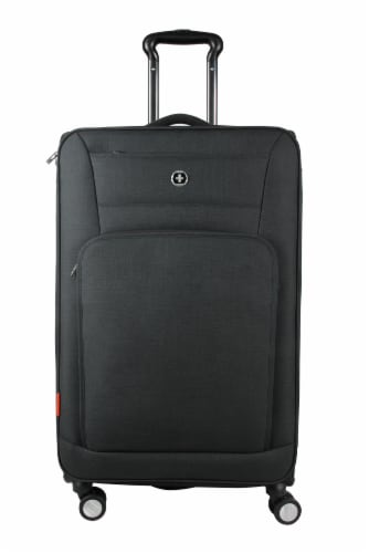 Swisdigital Sion Spinner Luggage - Black Perspective: front