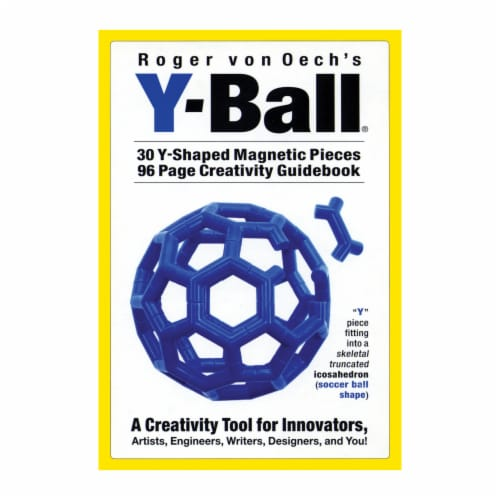 Creative Whack Company Y Ball - Blue Perspective: front