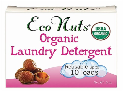 Eco Nuts  Organic Natural Laundry Soap 10 Loads Fragrance Free Perspective: front