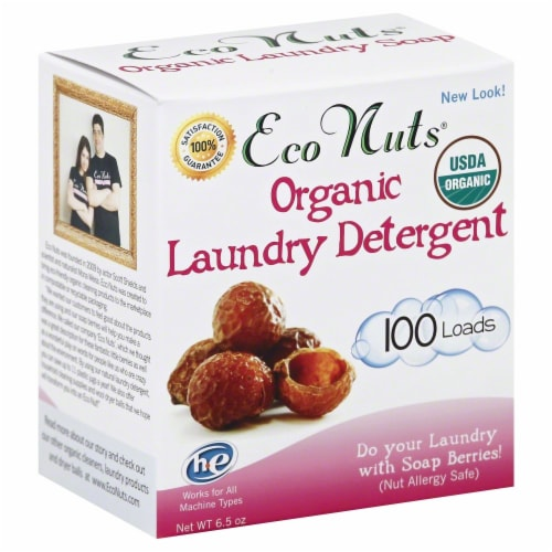 Eco Nuts Organic Laundry Detergent Perspective: front