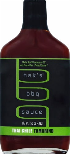 Hak's Thai Chile Tamarind BBQ Sauce Perspective: front