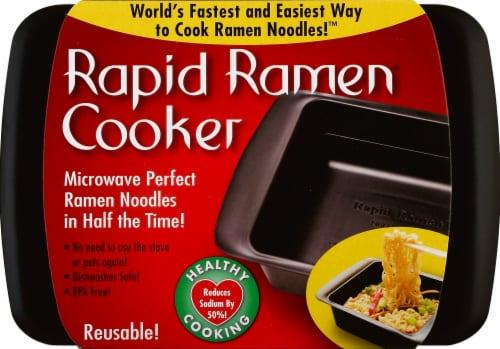 Rapid Ramen Cooker - Gray Perspective: front