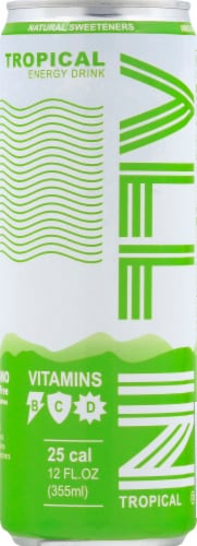ALL IN Tropical Energy Drink Perspective: front